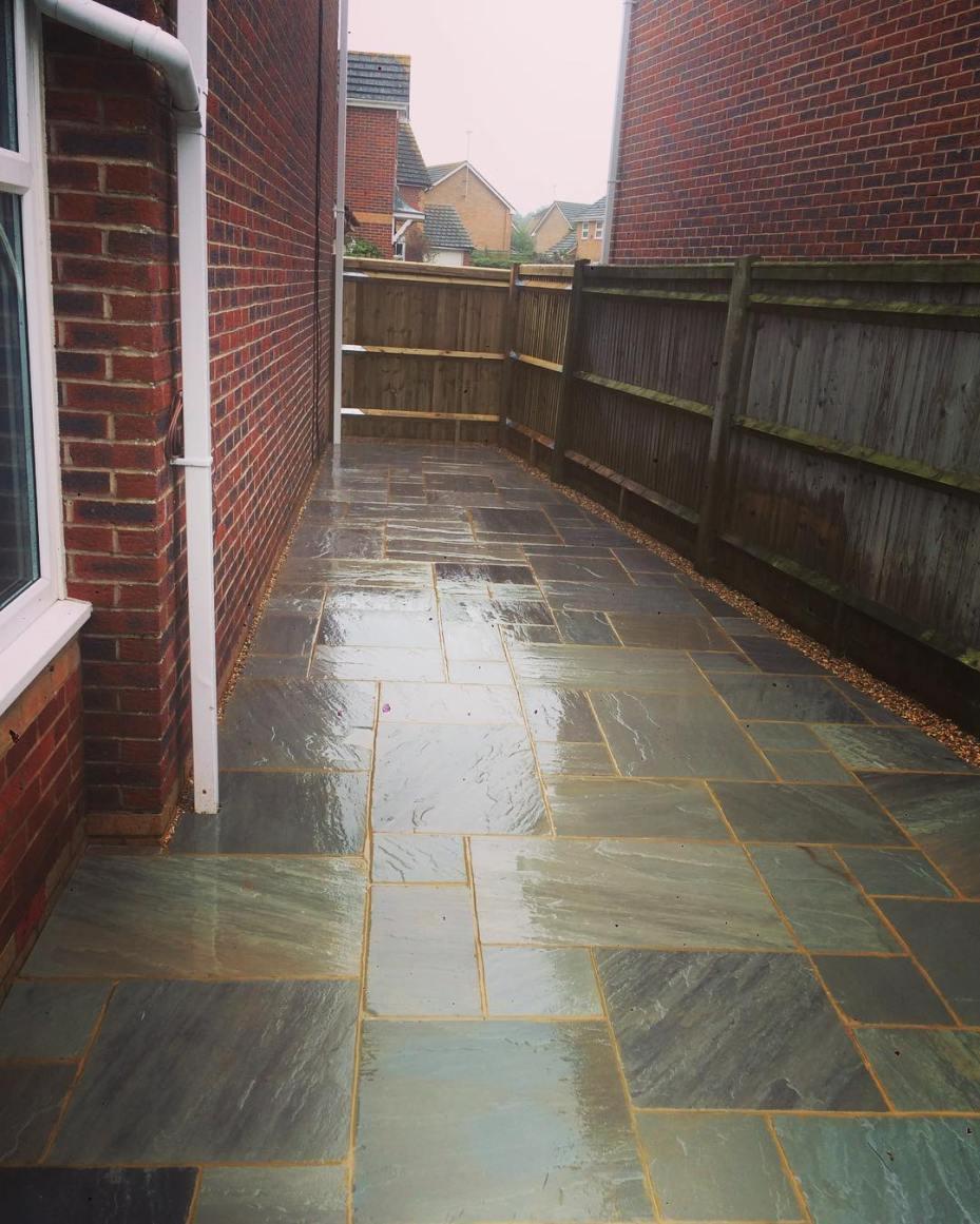 Garden Brick Paving